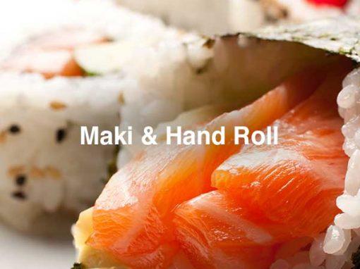 MAKI & HAND ROLL